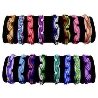 Resale Friendship Bracelets Colorful Handmade Assorted 100 Pack