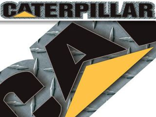 Caterpillar CAT windshield window banner decal sticker Pickup 4x4