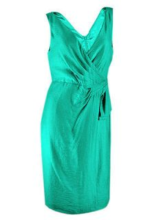 newly listed size 18 emerald green lined dress time left
