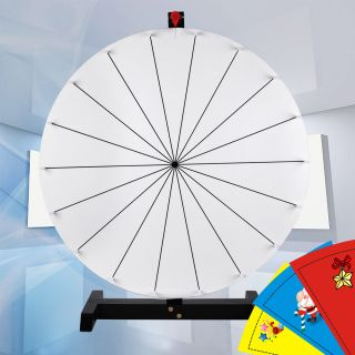16 prize wheel free template diy design tabletop spin game for Wheel of fortune board template
