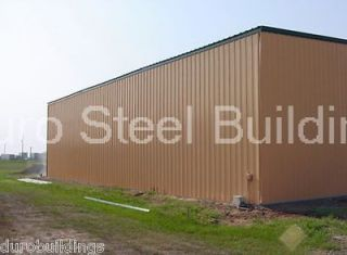 Duro Steel 50x100x17 Metal Building Kit Industrial Commercial Storage
