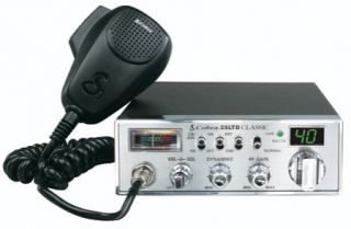 cobra 25 ltd 40 channels cb radio time left $