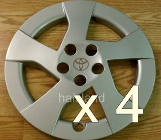 Set of 4 Toyota Prius 2010   2011 Hubcap Wheel Cover 15 NEW AM