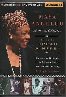 Maya Angelou   A Glorious Celebration A Biography Audio Book On 3 CDs