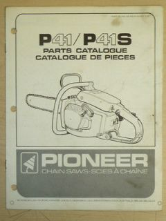 pioneer 01200a chainsaw parts diagram - 300×400