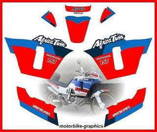 hd africa twin xrv 750 rd 04 decal graphic set stickers from united