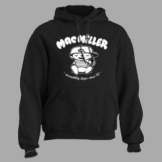 Mac Miller ~ Knock Knock ~ HOODED SWEATSHIRT rap hip hop t shirt