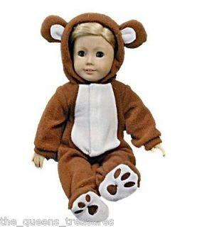 Newly listed NEW DOLL CLOTHES FOR 18 AMERICAN GIRL TEDDY BEAR SLEEPER