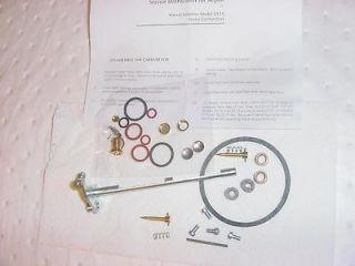 John Deere 60 620 630 70 720 730 Marvel Schebler Carburetor Kit DLTX