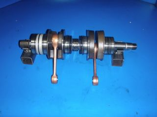 skidoo rotax crankshaft 583 521 536 53 2 rebuilt from