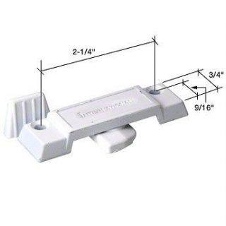 INTERNATIONAL WINDOW SASH LOCK F 2780 F2780 WHITE LOCKS 5/8 BACKSET