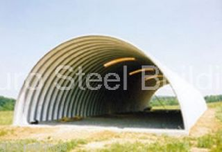Duro SPAN Steel Q30x45x14 Metal Building Kits Factory DiRECT Quonset
