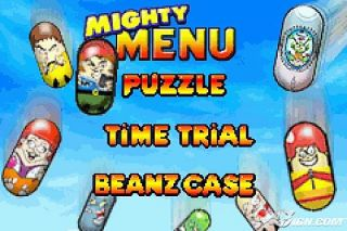 Mighty Beanz Pocket Puzzles Nintendo Game Boy Advance, 2004