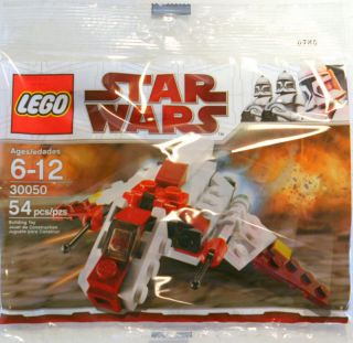 lego star wars republic attack shuttle polybag 30050 one day