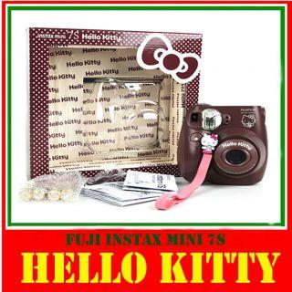 New Fuji Fujifilm Instax Mini 7s Hello Kitty Film Photo Camera
