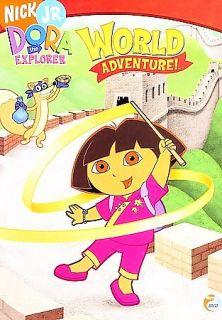 Dora the Explorer   World Adventure DVD, 2006, Checkpoint