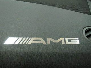 2pcs dashboard badge sticker decal mercedes benz amg time left