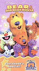Bear in the Big Blue House   Everybodys Special VHS, 2002