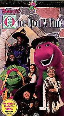 Barney   Once Upon a Time VHS, 1996
