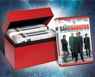The Sandbaggers The Complete Collection DVD, 2010, 10 Disc Set