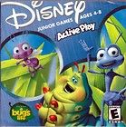 Disney Bugs Life Active Play Junior Games Ages 4 8 CD ROM NEW