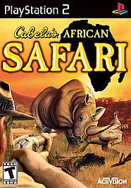 Cabelas African Safari Sony PlayStation 2, 2006