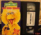 Sesame Street BIG BIRD SINGS Video RARE on VHS CTW 1995 HTF MINT 11