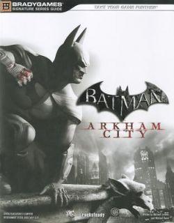 Batman Arkham City Signature Series Guide by Warner BROS 2011