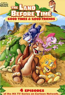 Land Before Time Good Times and Good Friends DVD, 2007