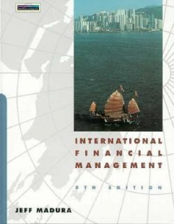 International Financial Management by Madura 1997, Paperback