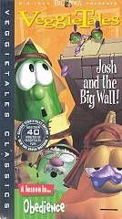 VeggieTales   Josh And The Big Wall VHS, VeggieClassics
