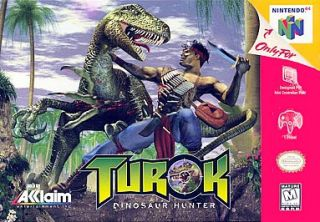 Turok Dinosaur Hunter Nintendo 64, 1997