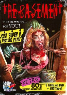 The Basement Retro 80s Horror Collection DVD, 2011, 4 Disc Set