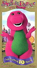 Barney   Sing and Dance With Barney VHS, 1999, Spanish Dubbed