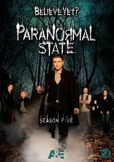 Paranormal State The Complete Season Five DVD, 2011, 3 Disc Set