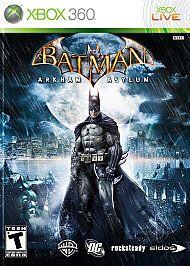 Batman Arkham Asylum Xbox 360, 2009