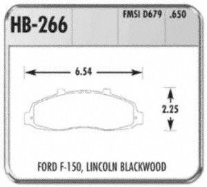 Hawk Performance HB266P.650 Disc Brake Pad