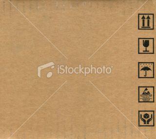 stock photo 14222246 cardboard box symbols
