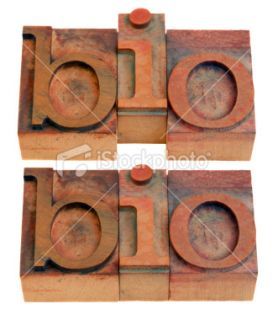 bio   biography or biology  Stock Photo  iStock