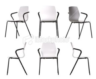 Design elements  Chairs Royalty Free Stock Photo