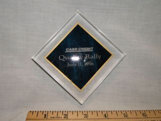 case ih credit quality rally plastic cube display item time