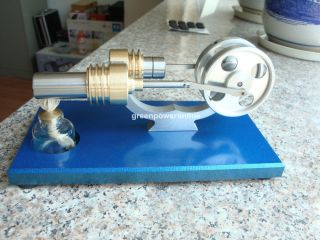 Hot Air Stirling Engine Motor Generator Education Toy Kits Electricity