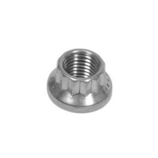 ARP Nut 12 Point Head Stainless Steel Polished 10mm x 1.25 RH Thread
