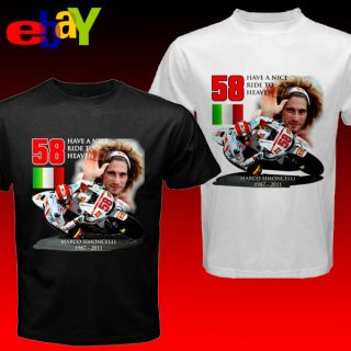 Marco Simoncelli 2011 Have a Nice Ride to Heaven Motogp Italian Racer