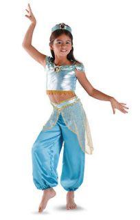 disney princess jasmine classic child costume size 4 6x time