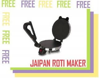 JAIPAN (JUMBO)** ROTI CHAPATI TORTILLA MAKER (with 3 amazing FREE