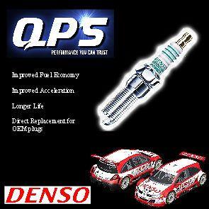 CHEVROLET BERETTA 2.8 GTU Denso Iridium Power Spark Plug/s ´87 ´89