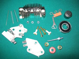 Alternator Repair / Rebuild Kit 70 105 amp Rectifier Brushes Bearing