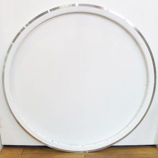 SUPER LIGHT KinLin XR 300 Fixed Gear or Road Two Rim Rims 700c White