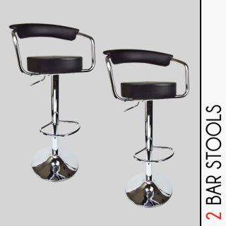 Newly listed 2 New Black Bombo Chair Swivel Seat Pub Bar Stools